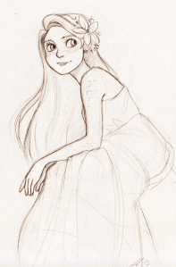 Rapunzel by AndytheLemon