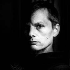 Self Portrait 733 - Midnight Contemplation